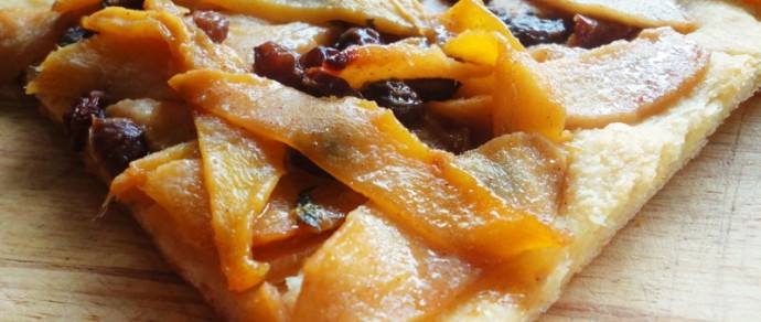 Show Your Teacher Appreciation With This Baked Spiced Mango-Apple Pastry
