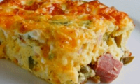 Cornbread and Ham Recipe