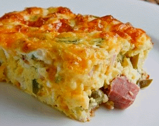 Cornbread and Ham Recipe