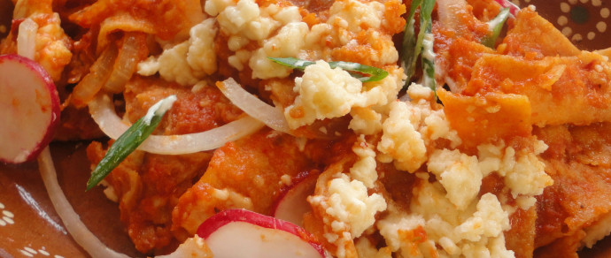 Red Chilaquiles: A Favorite Mexican Breakfast Dish