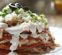 Enchiladas stacked 2