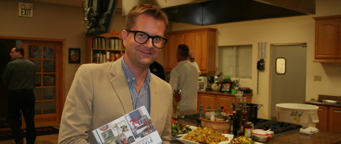 "Melissa's Produce Hosts Famed Designer Nathan Turner and Introduced New Book, ""American Style: Classic Design and Effortless Entertaining"""