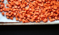 Apple and Roasted Sweet Potato Salad