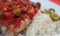 Veracruz-Style Tilapia Embraces Full Flavors of Sauce
