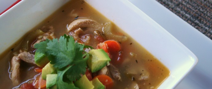 Sopa de Lima with Black Limes: This Aint Your Mama's Chicken Soup