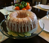 Sweet Corn Bundt Cake