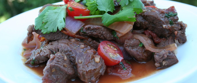 Lomo Saltado Recipe + Chef Merito Giveaway