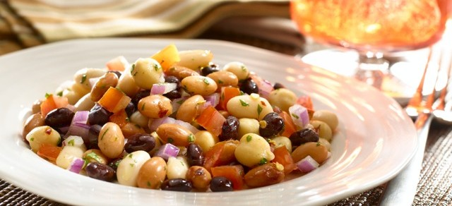 Tangy Three Bean Salad from Goya Foods + Tacolandia Ticket Giveaway (UPDATE: Contest Closed)