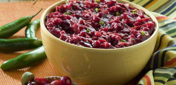 Tropical Chipotle Cranberry Sauce