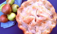 Fall For Forelle Pears and Raspberry Pie