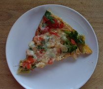 Vegetable Frittata #RecetaTomaLeche #Positivismo