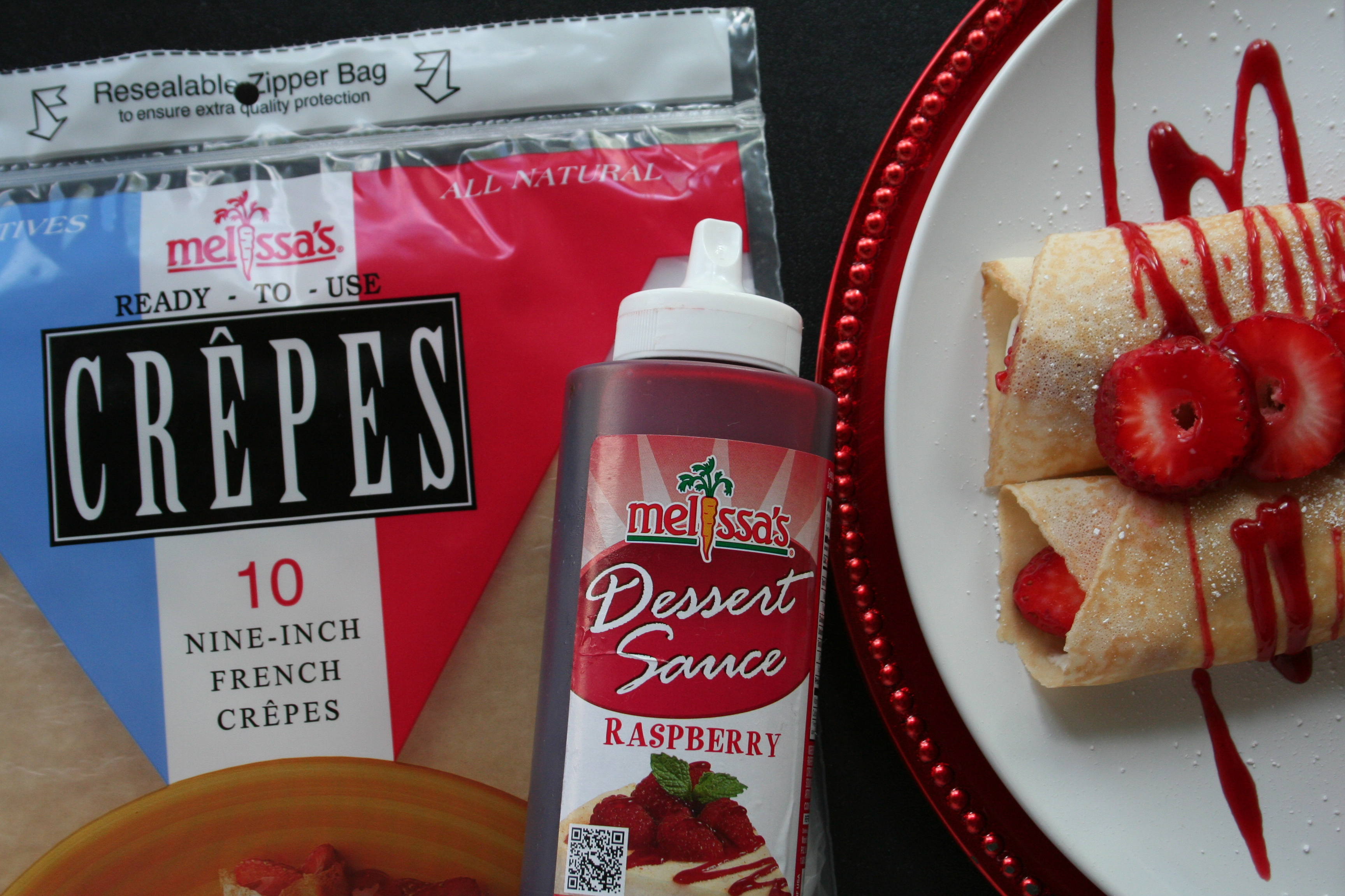 Valentine's Day - Melissa's Produce Crepes - LatinoFoodie.com