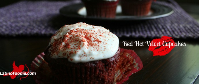 Heat Things Up This Valentine's Day with Red Hot Velvet Cupcakes