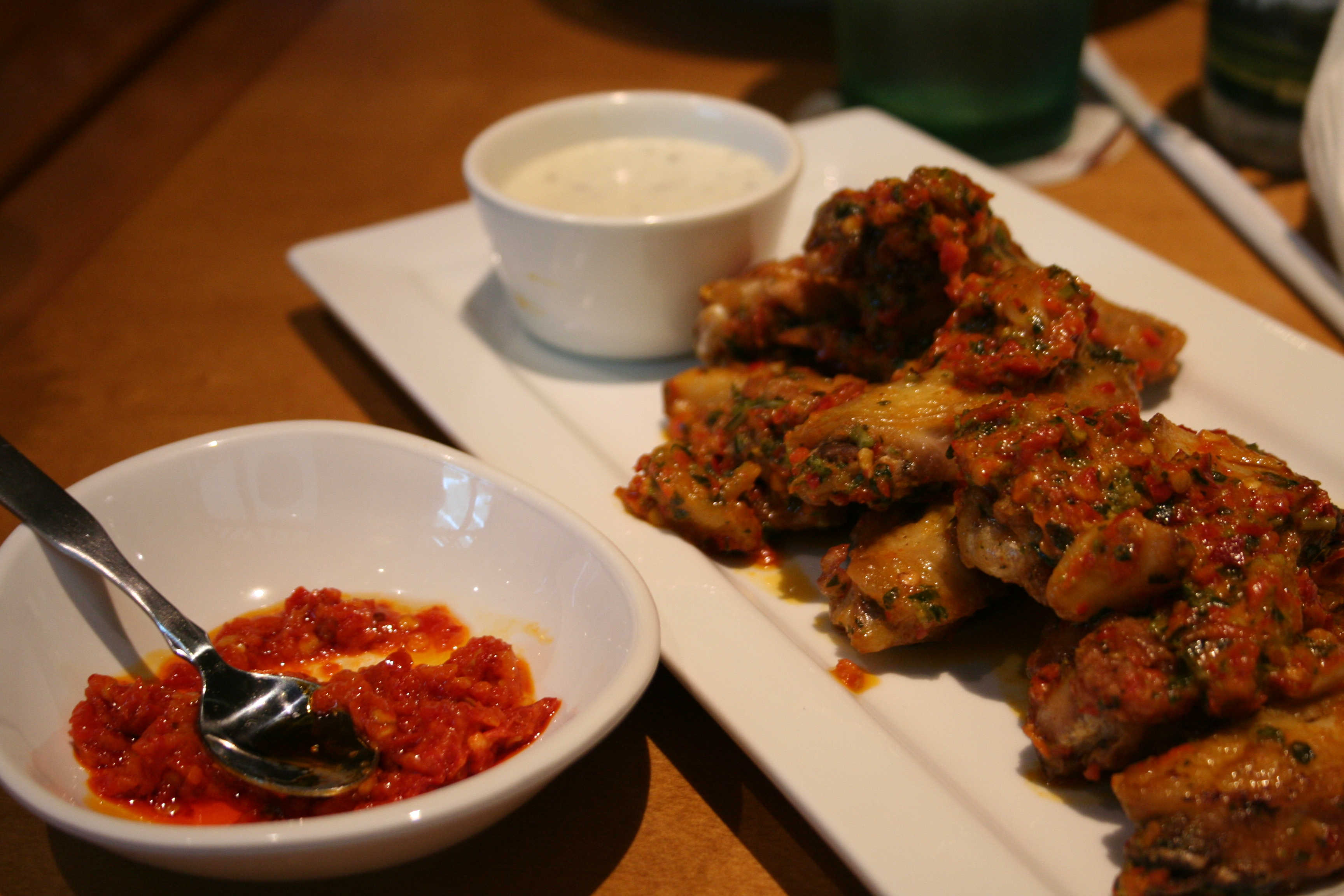 Spicy Calabrian Wings