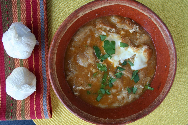 Sopa de Ajo, Sweet Garlic Soup Recipe