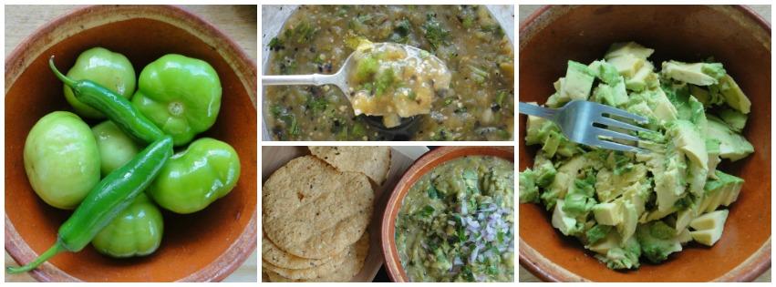 Grilled Tomatillo Guacamole