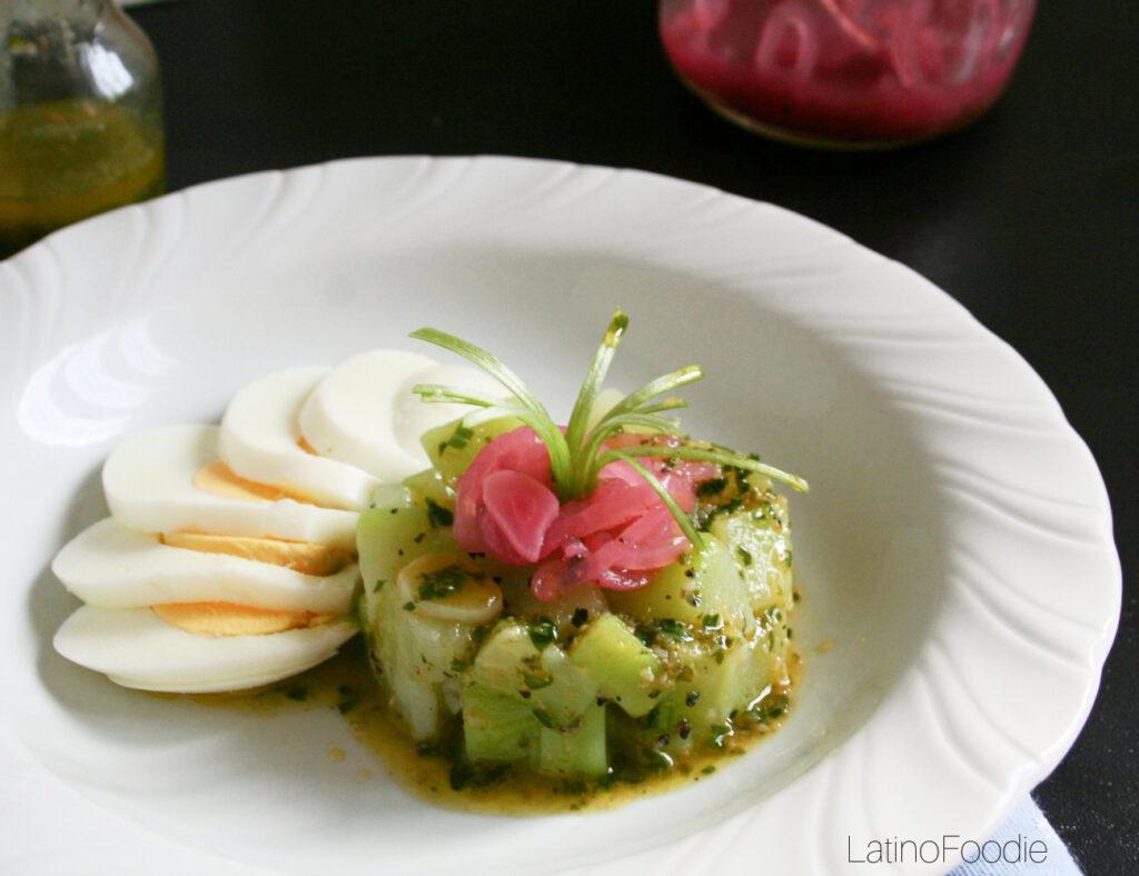 Brazilian Chayote Salad