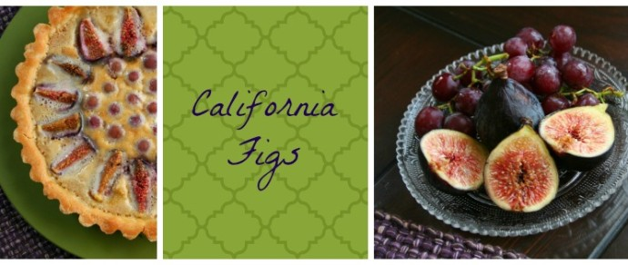 CALIFORNIA FIGS FRANGIPANE TART