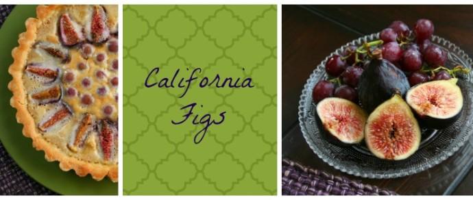 CALIFORNIA FIGS FRANGIPANE TART