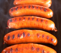 Grilled hot links