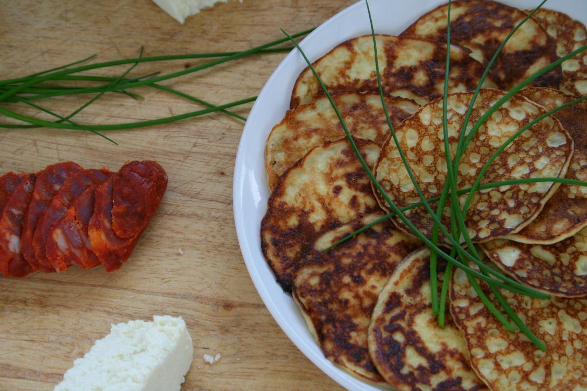 Cachapitas de Jojoto-Corn Pancakes