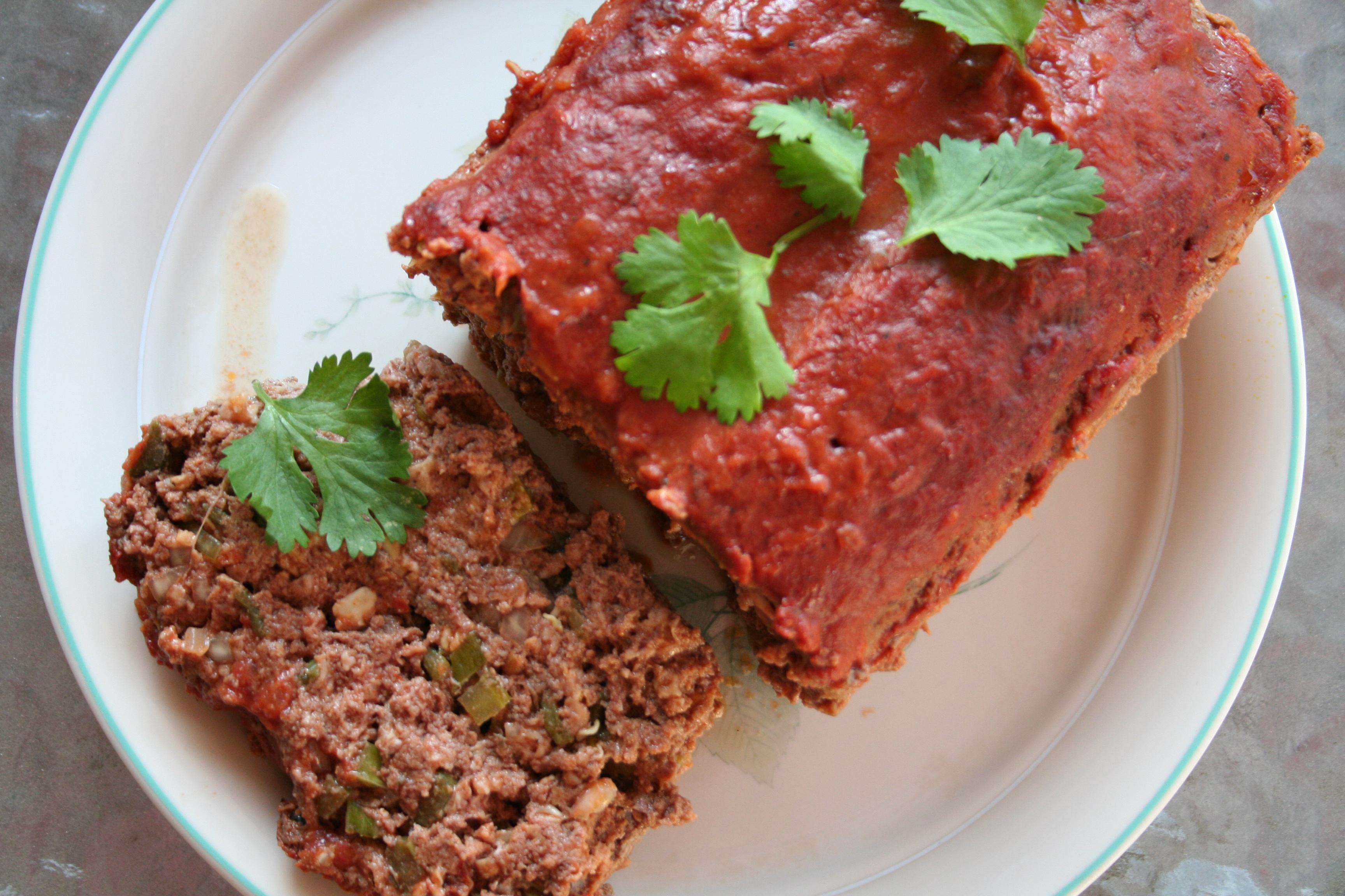 Pasilla Meatloaf