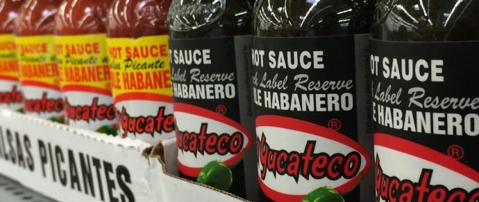 Pasilla Meatloaf with El Yucateco Black Label Reserve Habanero Hot Sauce