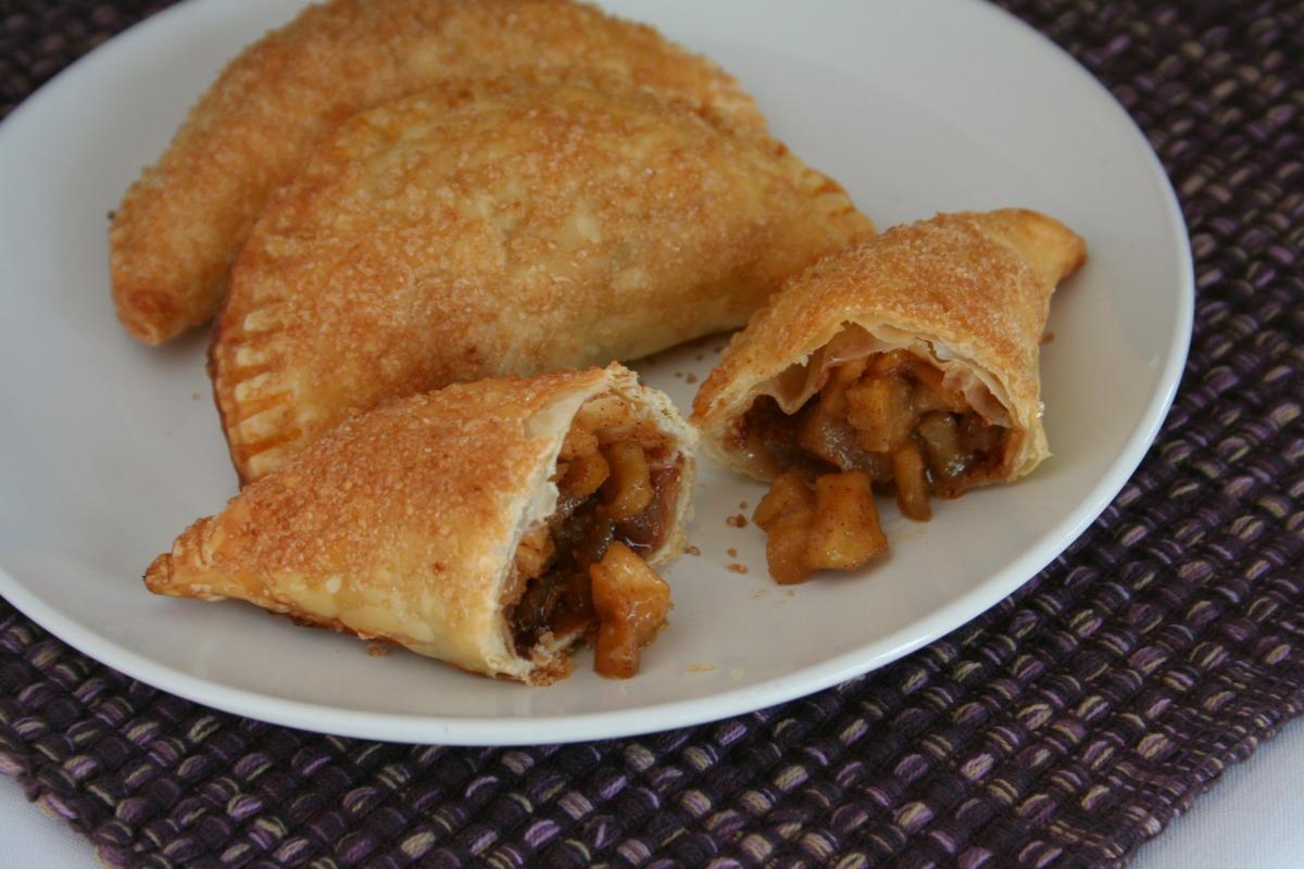 Snickers Cinnamon Apple Empanadas