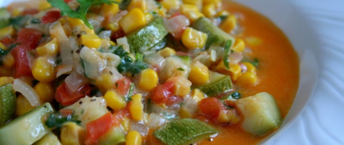 CALABACITAS: CHEESY COMFORT FOOD