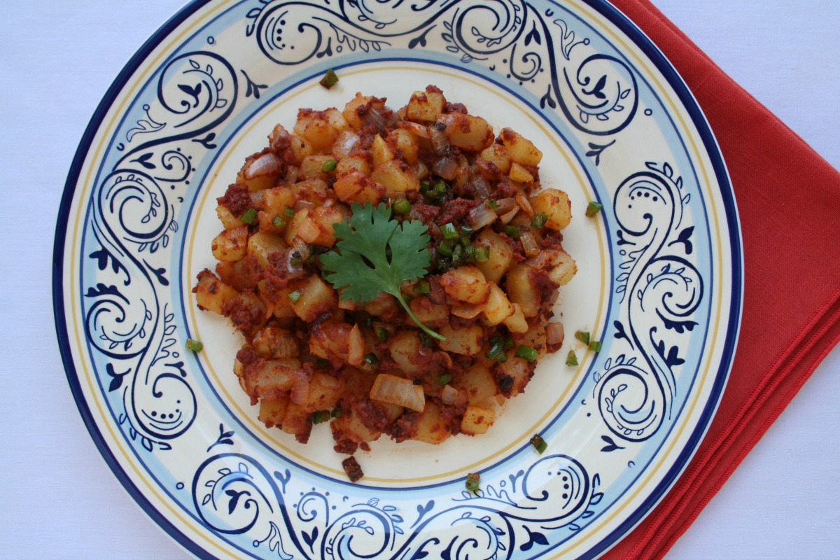 Chorizo con Papas with Klondike Pure Gold™