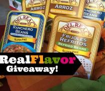 Del Real Foods #RealFlavor Giveaway