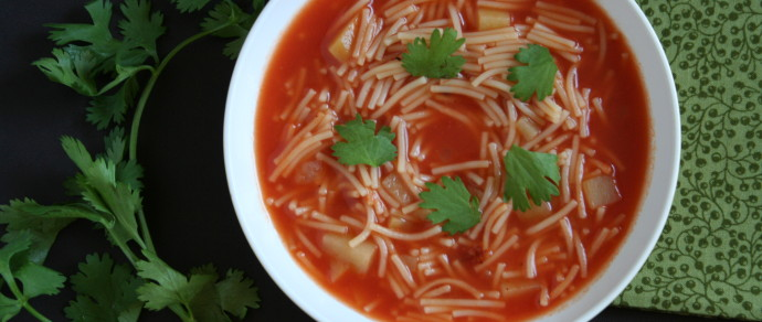 SOPA DE FIDEO: MEXICAN COMFORT FOOD