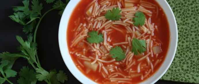 SOPA DE FIDEO: MEXICAN COMFORT FOOD