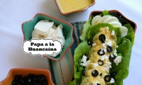 Papa a la Huancaína with Klondike Goldust® Potatoes