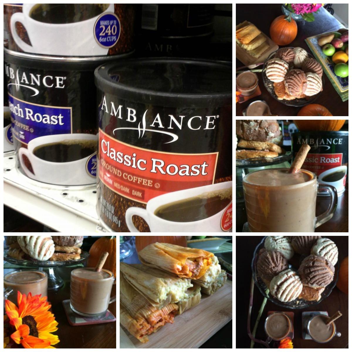 Pumpkin Spiced Champurrado with Ambiance Coffee