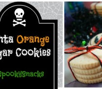 Fanta Orange Sugar Cookies #SpookySnacks