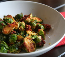 Brusels Sprouts with Mexican Chorizo