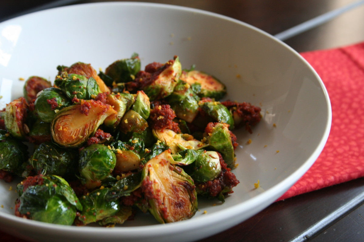 Brussels Sprouts with Mexican Chorizo - Latino Foodie