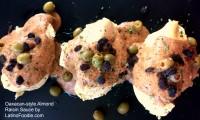 POLLO EN ALMENDRADO — Oaxacan-style Almond Raisin Sauce