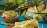 Recipe: CHILE VERDE PORK TAMALES MADE WITH HERDEZ TOMATILLO VERDE COOKING SAUCE