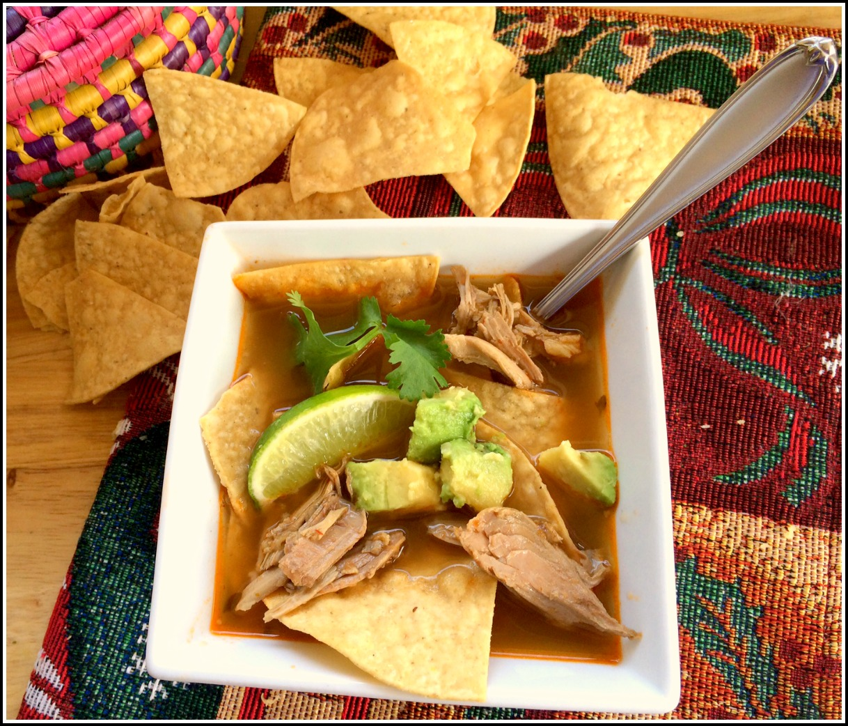 WARM UP WITH TURKEY TORTILLA SOUP - Latino Foodie