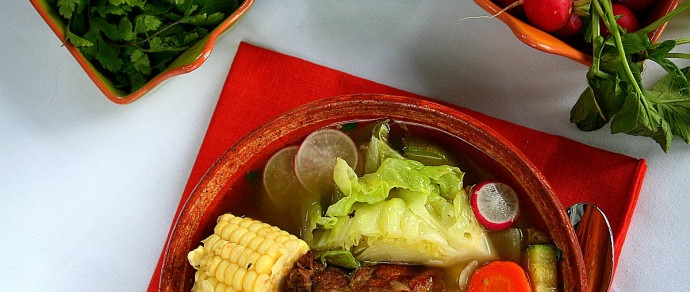 CALDO DE RES — A Hearty Mexican Beef Soup