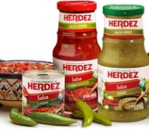 Herdez Brand logo and product shot
