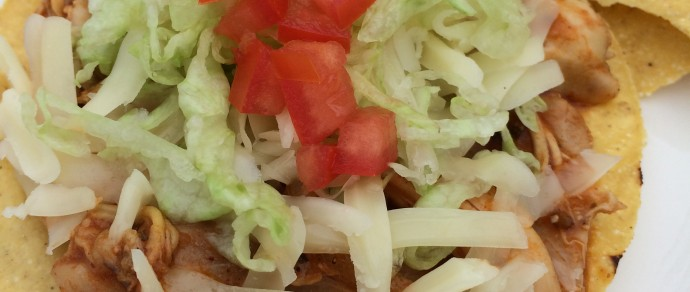DON'T SKIMP ON FLAVOR: EAT Chicken Tinga Tostadas