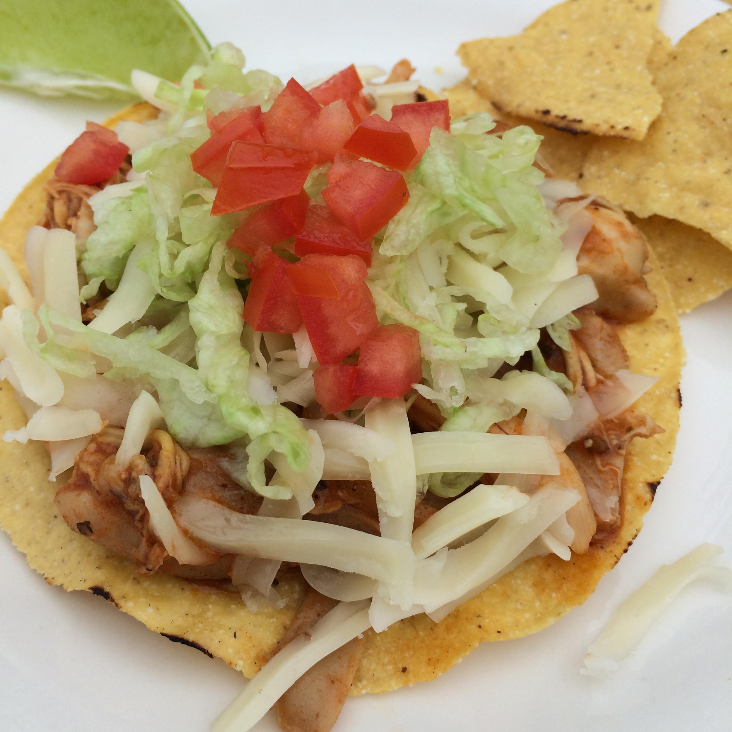 DON'T SKIMP ON FLAVOR: EAT Chicken Tinga Tostadas - Latino Foodie