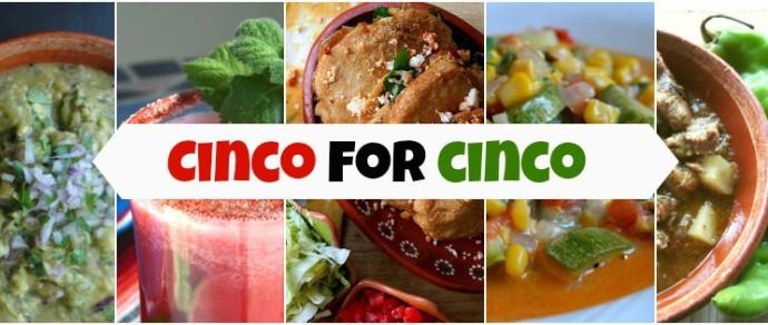 5 TRADITIONAL MEXICAN RECIPES FOR CINCO DE MAYO