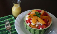 JICAMA & WATERMELON SALAD RECIPE WITH TUTORIAL VIDEO