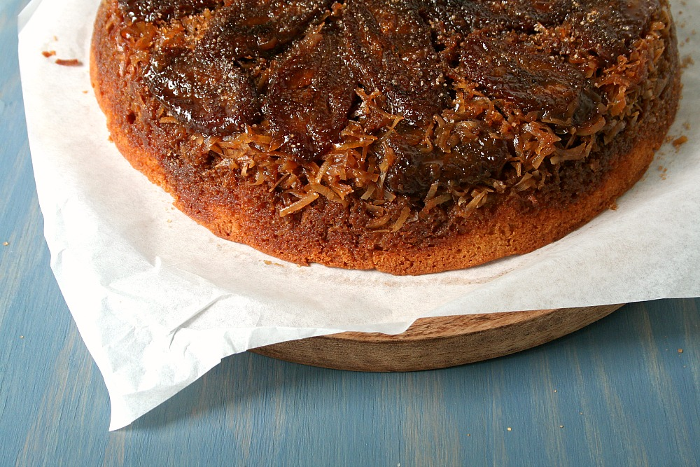 Plantain Upside Down Cake 1