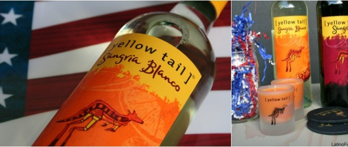 CELEBRATE FREEDOM, FAMILY AND FRIENDS WITH A SPICY SANGRIA SPARKLER #CelebraSangria