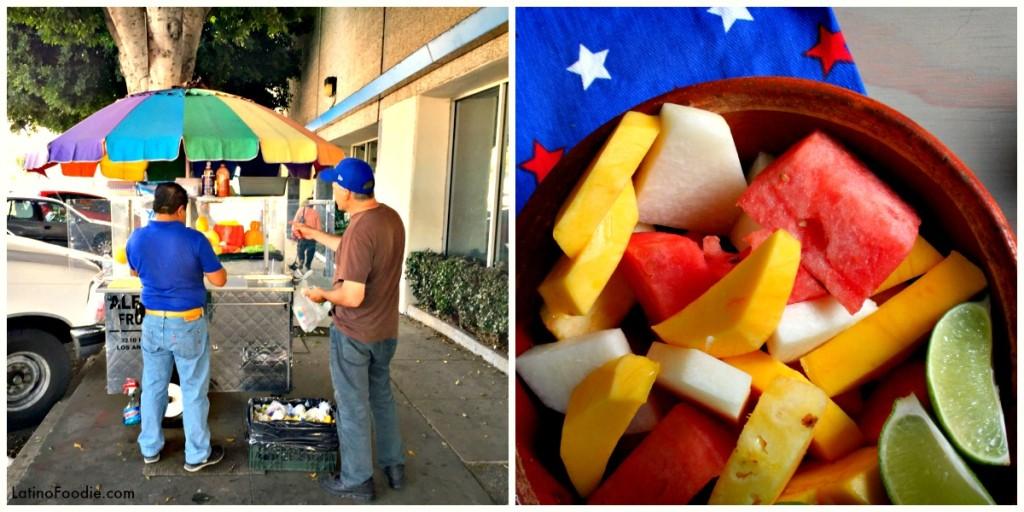 Fruit Vendor Collage 2